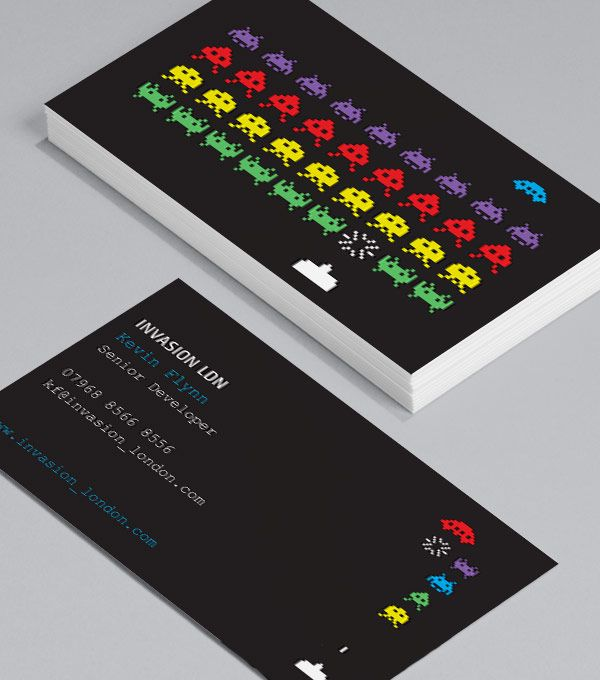 Aliens: Mac, PC, it really doesn't matter - who doesn't love old school computer games? These standard Business Cards are perfect for software developers, game designers, gamers, IT consultants with a sense of fun, and anyone who loves a good old fashioned slice of popular culture. #moocard #businesscard