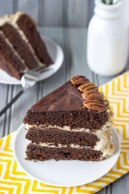 Chocolate Pumpkin Delight Cake