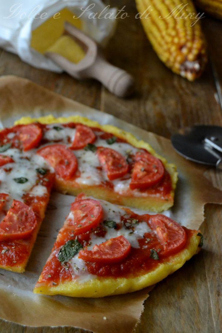 ricetta pizza di polenta   Dolce e Salato di Miky
