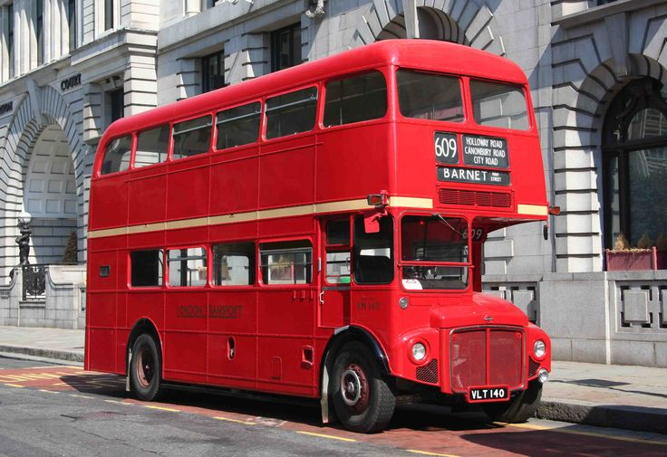 RM140. 1959 AEC Routemaster bus - RM140. The routeof this preserved RM is 609, which was a trolleybus route that had not been renumbered in 1959. - London Bus Museum