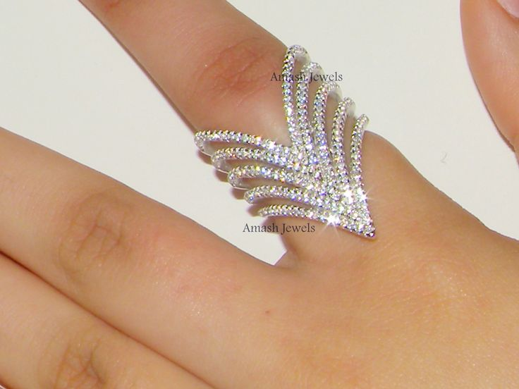 Important Notice: I only post to United States , Europe , UK , Australia at the moment . Buyers from other countries want to buy my items please contact for details.    Size Available : US Size Available : 6/7/8/9 ....UK Size M/O/Q/S    Dazzling Sterling Silver Ring is combination of simplicity with elegance.    Description: 925 Sterling Silver RIng.  Type: Wide V Ring.  Material: 925 Sterling Silver  Finishing: 925 Sterling silver + Rhodium Palting  Silver weight: 12 g approx  Length: 3.5…