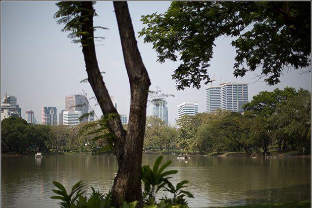 Lake at Lumpini Park Bangkok – Tour and Pictures of Lumphini Park – Bangkok, Thailand