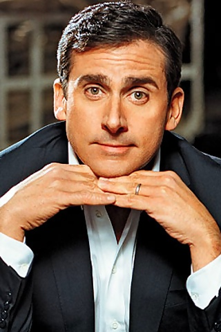 Steve Carell, funny, and attractive accent...