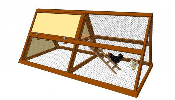 A Frame Chicken Coop Plans   MyOutdoorPlans   Free Woodworking Plans and Projects, DIY Shed, Wooden Playhouse, Pergola, Bbq
