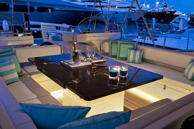 12 best oyster yacht 885 images on pinterest hill house for Top interior design companies london