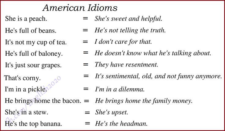 Forum | ________ Learn English | Fluent LandAmerican Idioms | Fluent Land