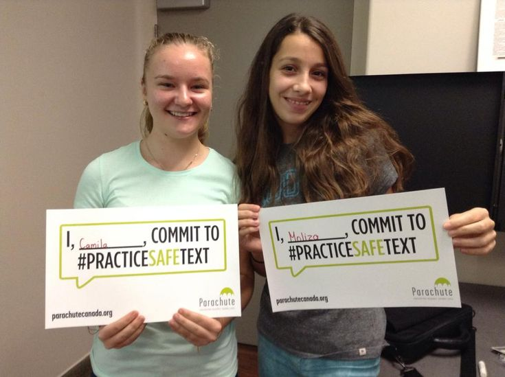 This week, teens and adults are encouraged to take the pledge to #practicesafetext, and urge others to do the same.