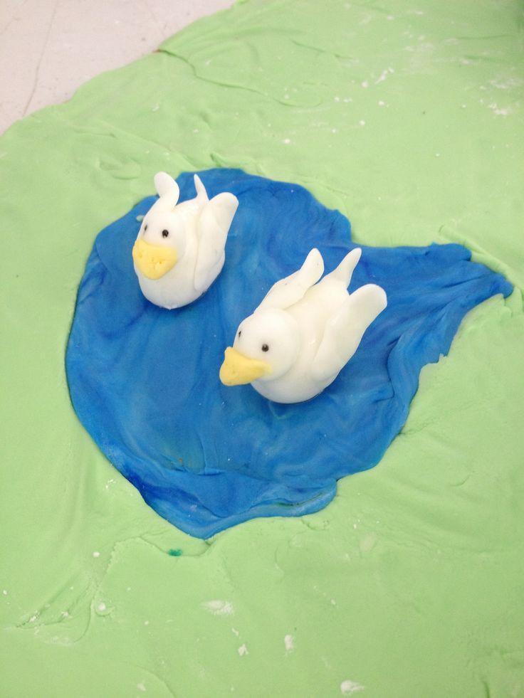 Model of my ducks for brads cake