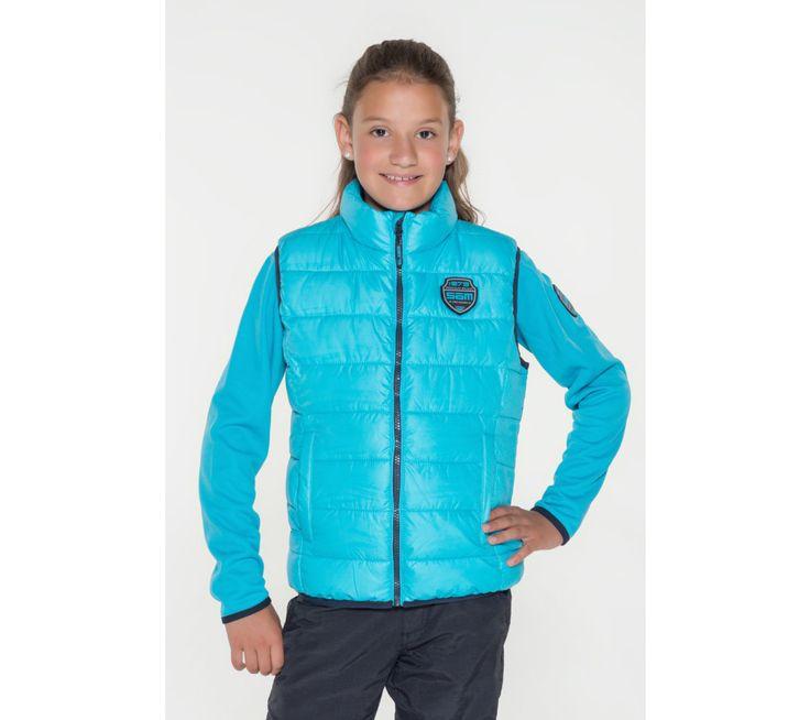 Dívčí prošívaná vesta Sam 73 | modino.cz #modino_cz #modino_style #style #fashion #sam73
