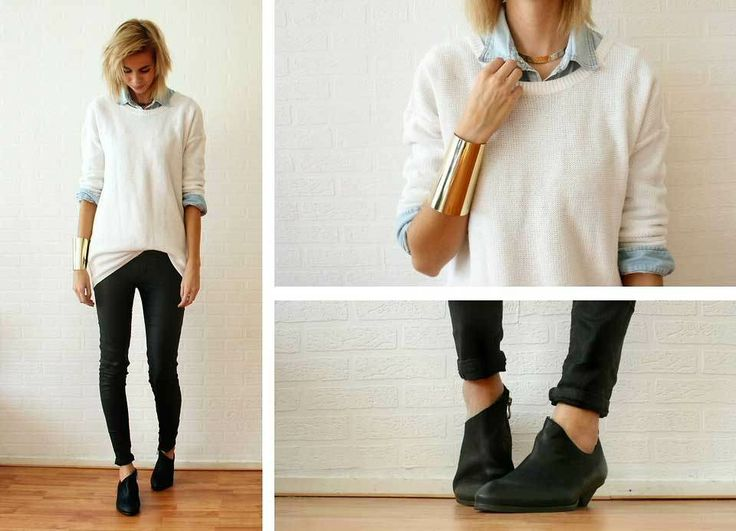how to wear ankle booties | How-To-Wear-Low-Boots-6 | Fringues ...