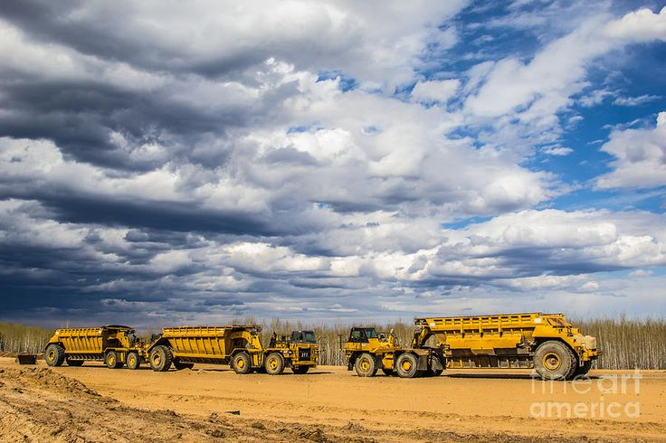 Cat 769d Trucks Photograph  - Cat 769d Trucks Fine Art Print *bodens room