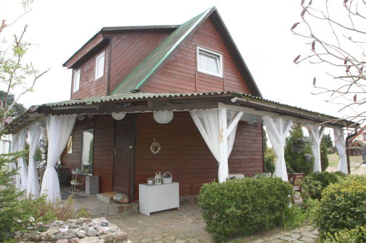 Summer house  in Poland ,terrace