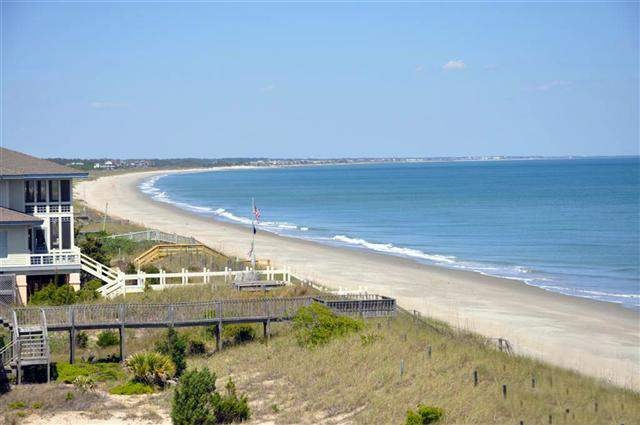 On a clear day, you can see forever!    From this DeBordieu Beach House on the SC Coast, you can see Prince George, Pawleys Island, Litchfield Resort, and Huntington Beach State Park!