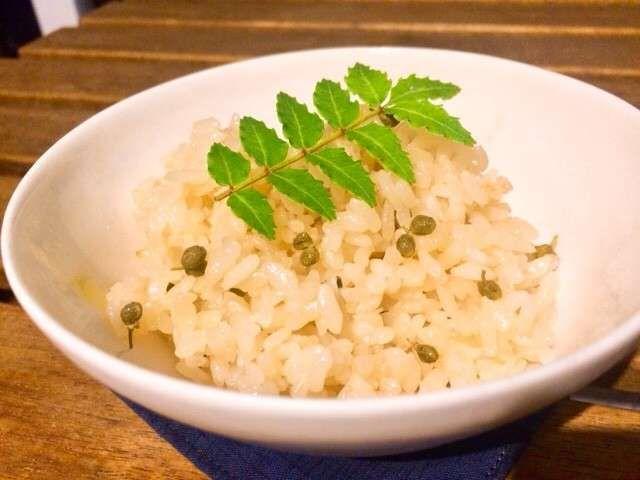 料理 山椒 の の 実