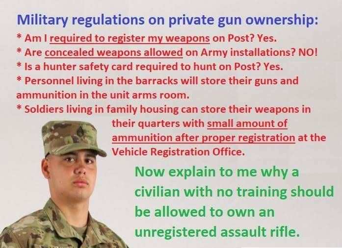 Can anyone currently in the military verify this for me?  I believe it's true but I don't know for sure.