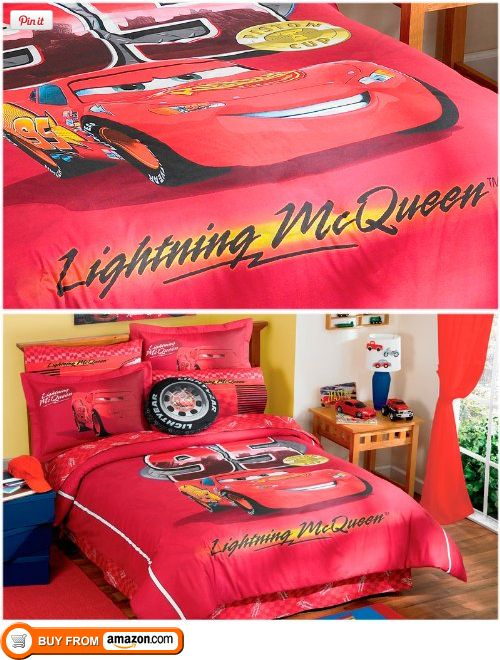 limited edition all time champ lightning mcqueen comforter bedding set