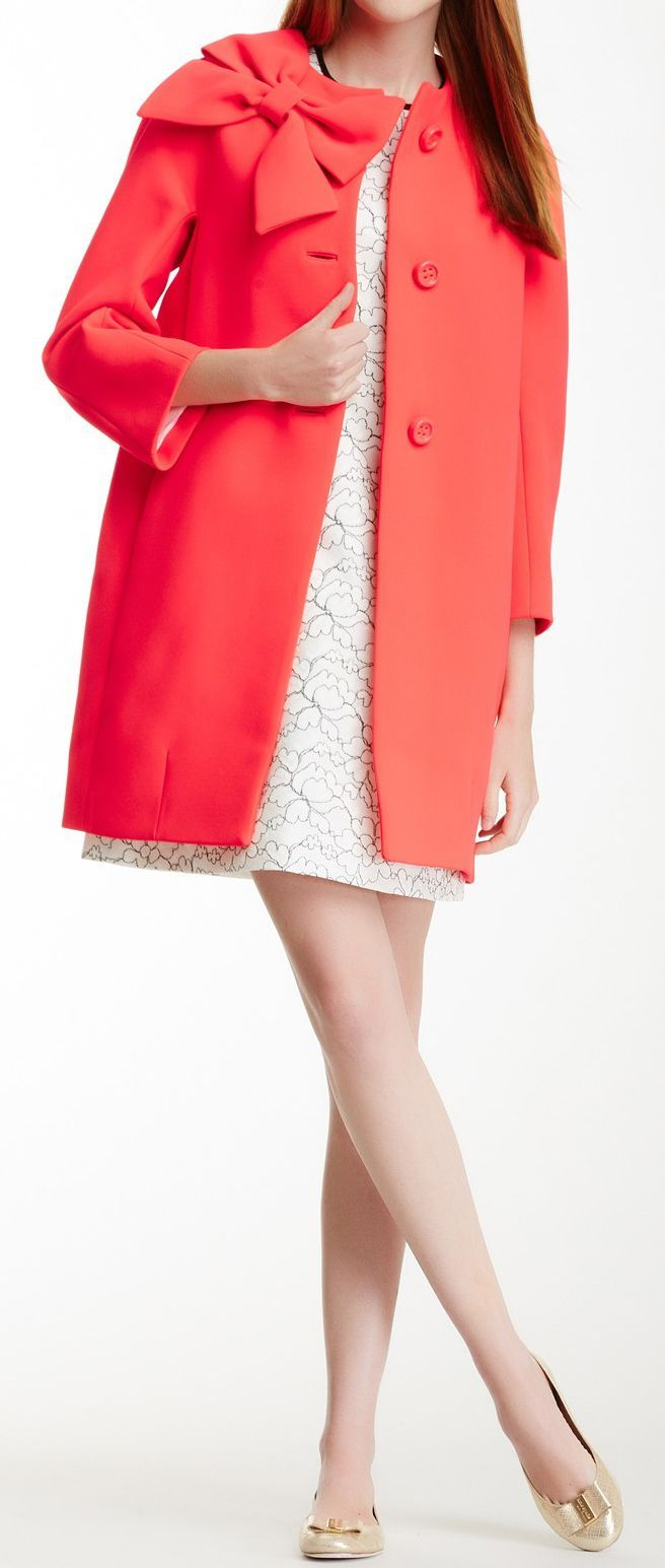 If I wasn't so broke, I would own every Kate Spade coat there is to own!