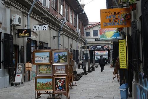 Hanul cu Tei street