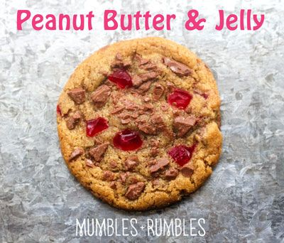 Peanut Butter and Jelly Slice | Mumbles-and-Rumbles
