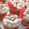 These are the cutest cupcakes around! When you put out these Santa Cupcakes at your holiday party, kids of all ages are sure to be squealing over them...and over you, too!
