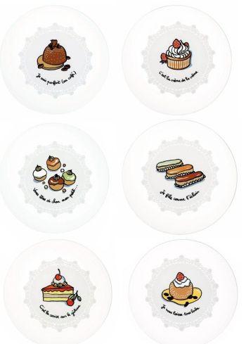 Assiettes à desserts