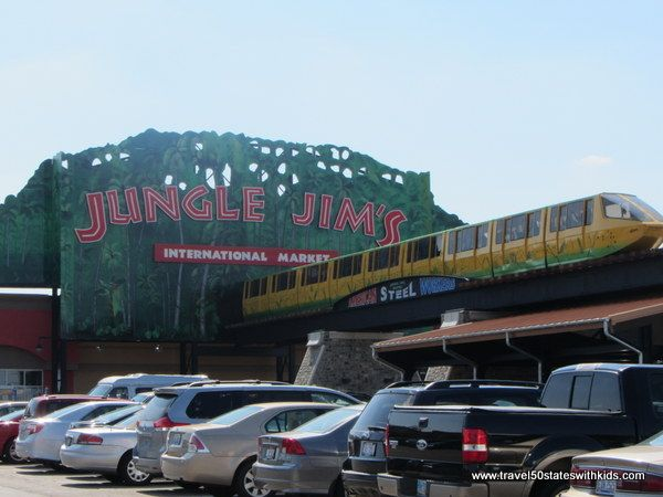 Jungle Jim's Entrance--near Cincinatti.  Largest supermarket in the U.S.  if they don't have it, nobody will!