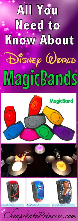 All you need to know about MagicBands at Walt Disney World | tips for Disney vacations #disney #disneyworld #disneytips
