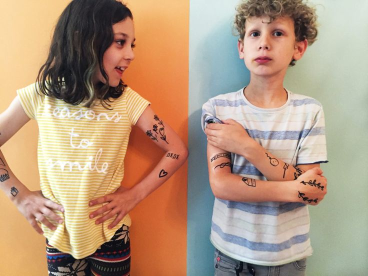 Make Your Own Temporary Tattoos Tattoos for kids, Temp