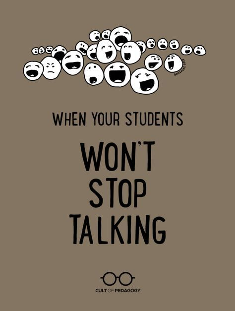 What they don't teach us in education courses is just how freaking much students talk, and how hard it can be to quiet them down. Help is on the way.