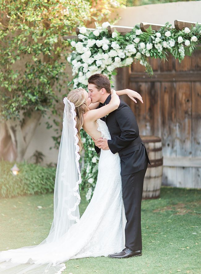 Blush & Ivory Wedding in Palm Springs at the Cree Estate – Inspired By This