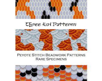 for the price of koi fish scales peyote stitch beadwork patterns cuff bracelet