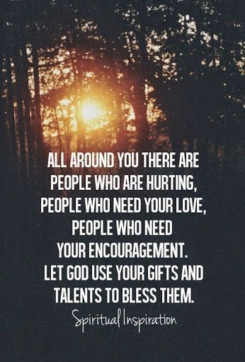Bless those around you