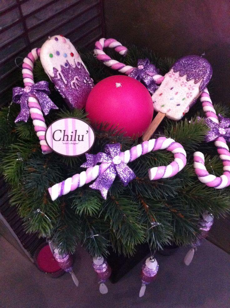 A Natale non solo rosso! Pink e mouve per decorazioni originali