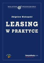 Leasing w praktyce - ebook  Leasingować można samochody, maszyny, nieruchomości. Każda firma może skorzystać z tego narzędzia finansowego. Zawierając umowę leasingu warto jednak wiedzieć, jakie haczyki i pułapki mogą się w niej znaleźć. Ponadto warto zdawać sobie sprawę z tego, jaki rodzaj leasingu dla jakiej firmy jest najkorzystniejszy. Poradnik odpowiada na wszelkie pytania związane z korzystaniem z tego narzędzia. W książce znajdują się również odpowiedzi ekspertów na najczęściej…