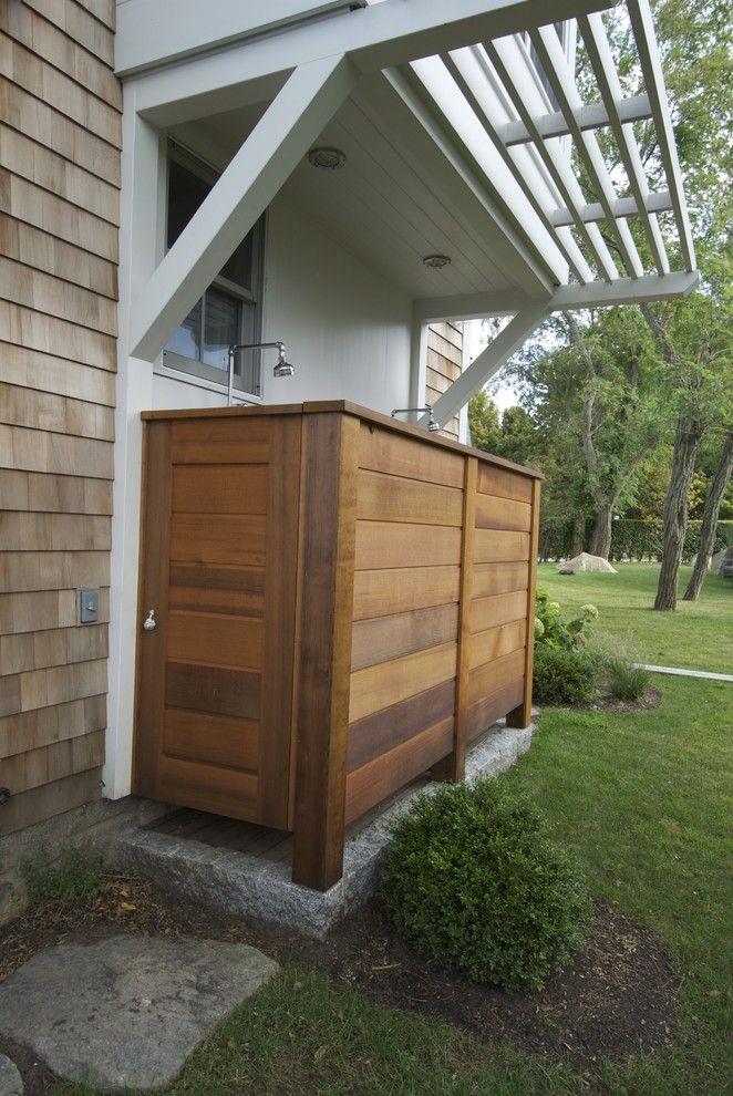 best 25 outdoor shower enclosure ideas on pinterest large shower curtains outdoor showers. Black Bedroom Furniture Sets. Home Design Ideas