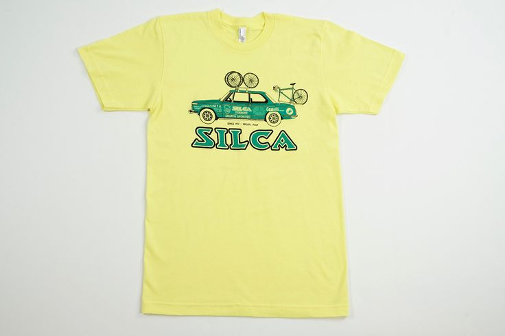 1972 BMW 2002 Team Car T-Shirt - Lemon