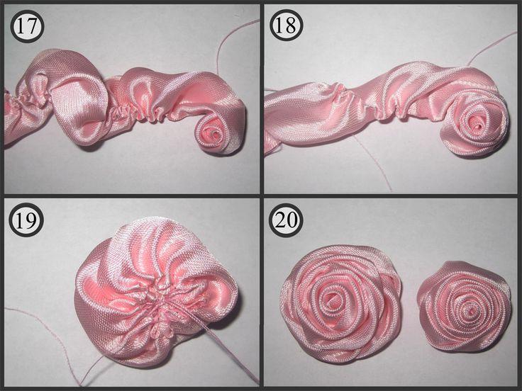 изображением как сделать розочку из ткани пошаговое фото нельзя назвать притязательным
