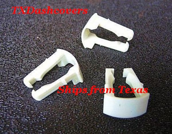 5 16 Ford 3 0 Gas Fuel Line Retainer Clips 6 Taurus Sable Retainers Ford Fuel