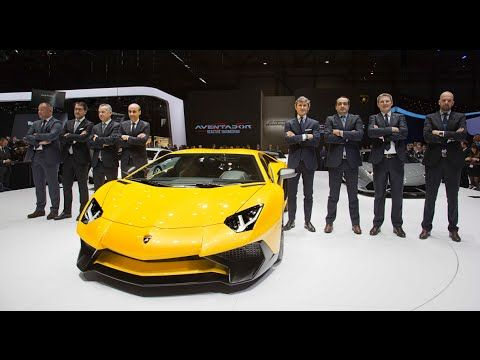 2016 Lamborghini Aventador LP 750 4 Superveloce - Automobili Lamborghini presents the Lamborghini LP 750-4 Superveloce at the Salon de l'Automobile in Geneva...