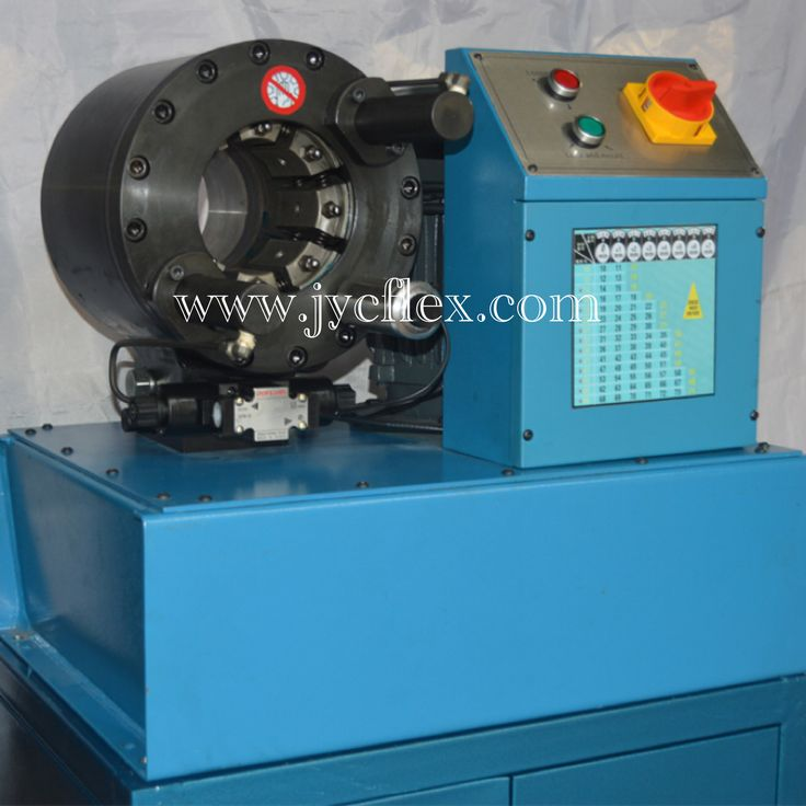 Our best sale hose crimping machine from China for 2inch hose crimping. www.jycflex.con