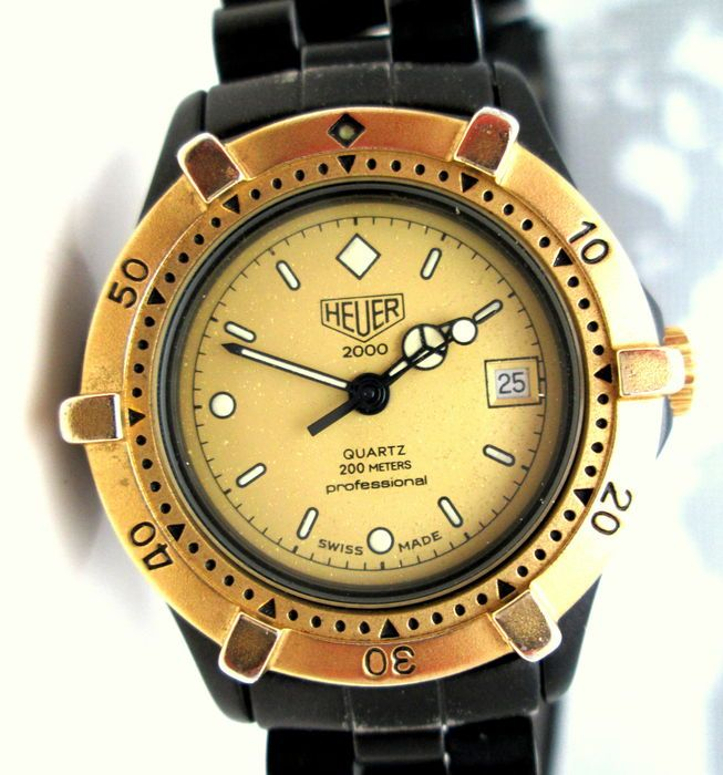 Catawiki online auction house: Heuer Professional 2000 – ladies wrist watch