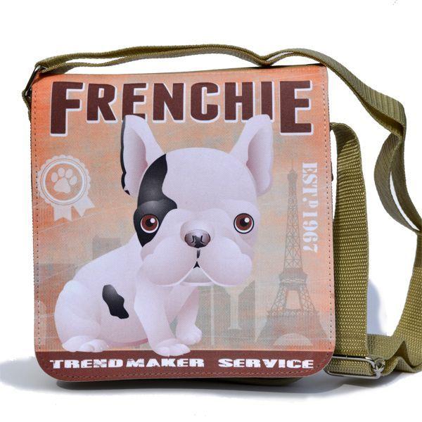 Francia bulldog táska