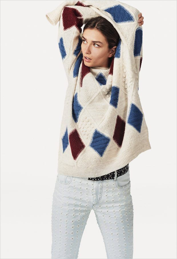 8aa31d5d6b Andreea Diaconu Models Isabel Marant Etoile SS18 Collection Garance