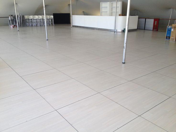 Pearl Teak marquee floor