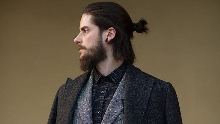 Men's hairstyles 2019: One wears medium-long hair in the form of Bro Flow!