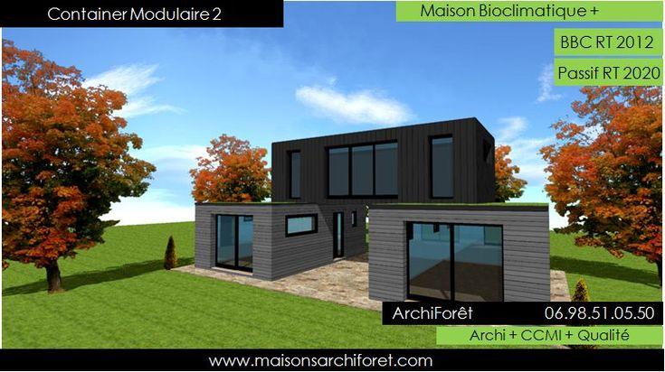 Les 25 meilleures id es concernant constructeur maison for Maison container normandie