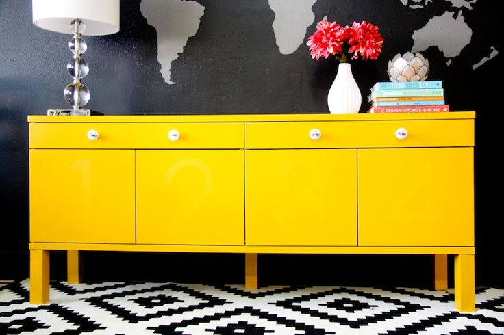 Ikea bjursta hack diy pinterest creative world map mural and painted w - Secretaire mural ikea ...