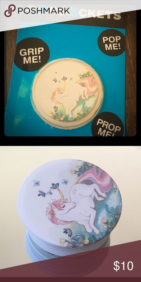 Unicorn POPSOCKET Great for Phone/tablet can be mounted everywhere you Want it. Other