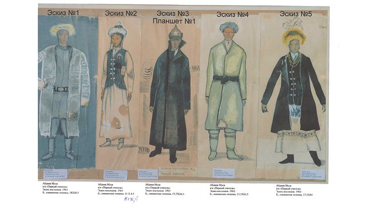 Как создавались костюмы для фильма «Первый учитель»