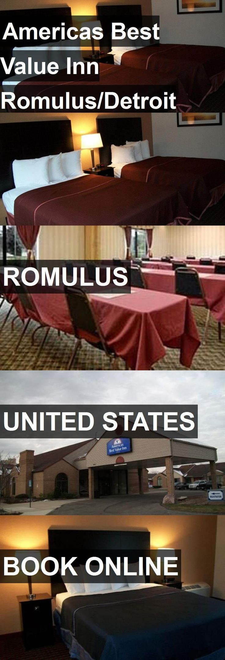 Hotel Americas Best Value Inn Romulus/Detroit Airport in Romulus, United States. For more information, photos, reviews and best prices please follow the link. #UnitedStates #Romulus #travel #vacation #hotel